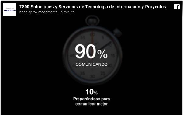 El 90% del tiempo de Dirección de Proyectos se lo emplea comunicando.