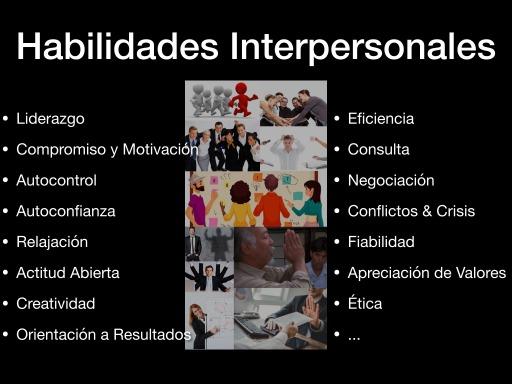 Habilidades Interpersonales en el Rango de Competencias de Comportamiento