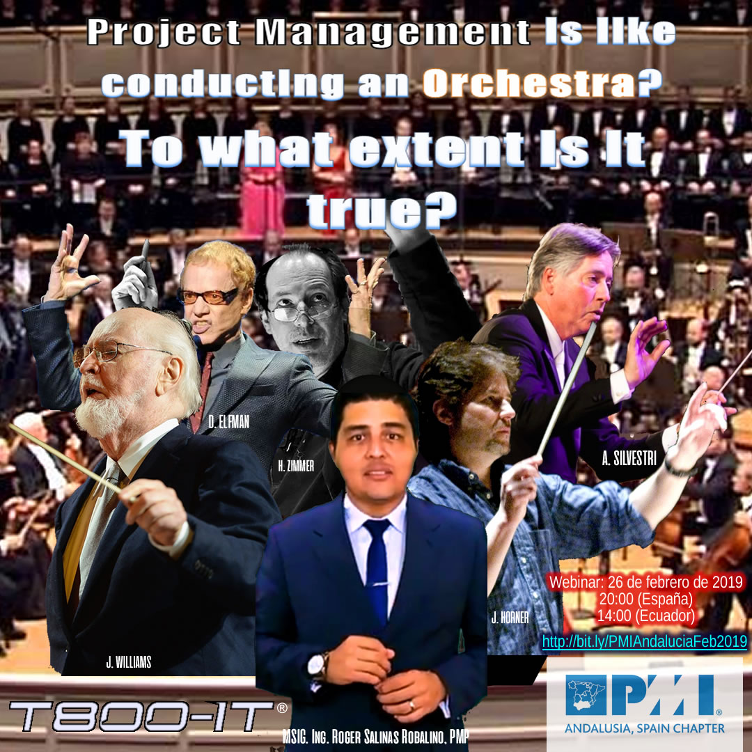 Project Management is like directing an Orchestra. To what extent is it true?