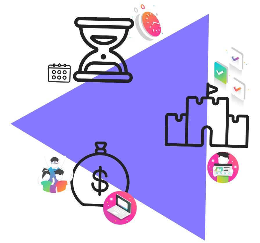 La Triple Restricción en Gestión de Proyectos: Tiempo, Alcance yCosto