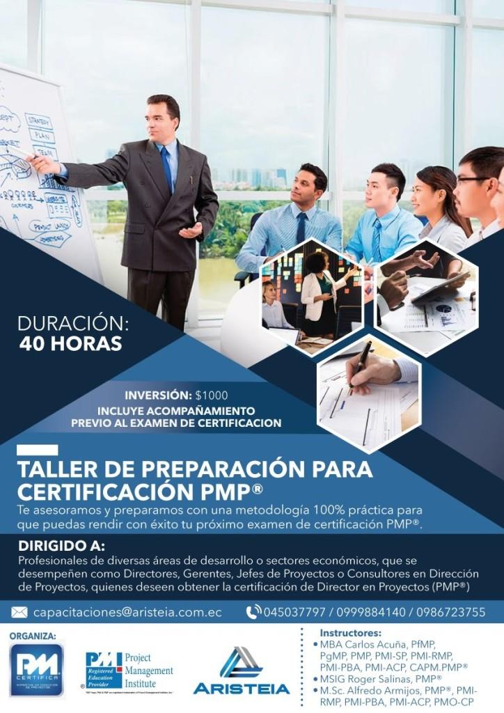 Taller de Preparación para Certificación PMP®
