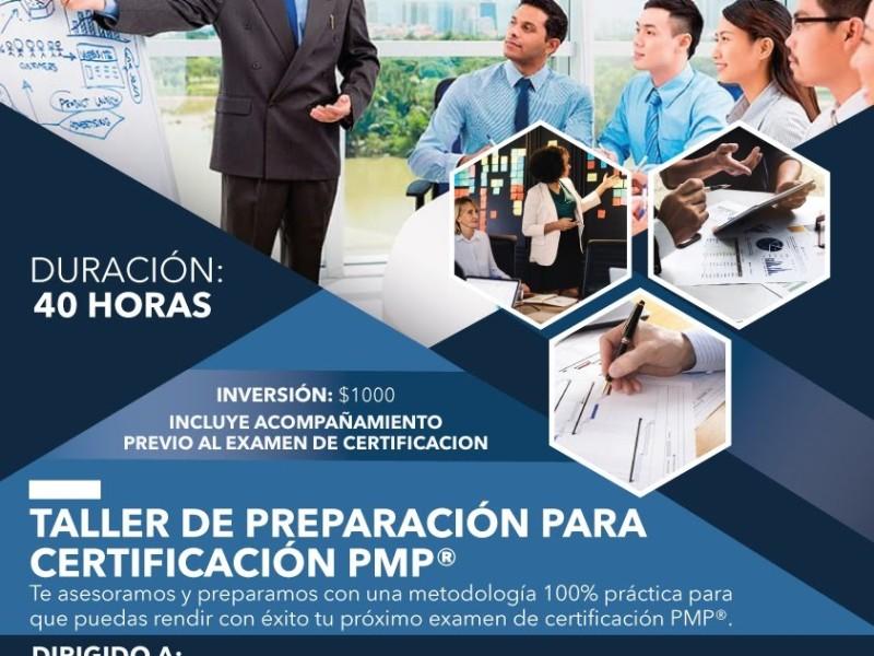 Taller de Preparación Certificación PMP®
