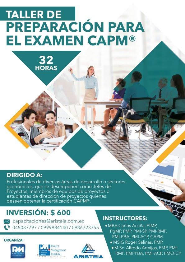 Taller para el Examen CAPM®